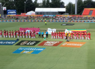 West Indies v Zimbabwe World Cup of Cricket The national anthems