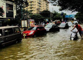 October 2017 bangalore/ bengaluru flooding