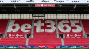 Bet 365 - Stoke City FC Shirt Sponsor