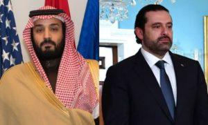 Mohammad bin Salman Al Saud (L) & Saad Hariri (R)