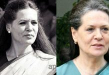 Sonia Gandhi Young vs. Now
