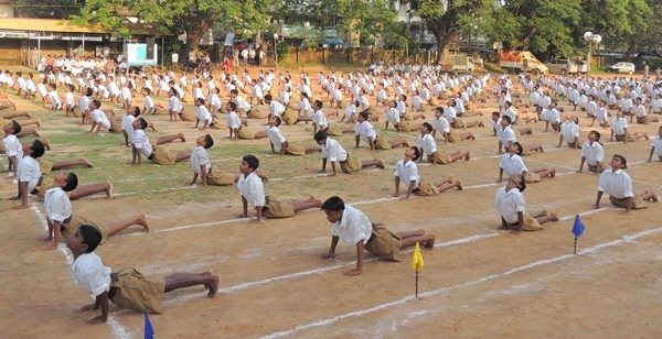 RSS Shakha Yoga The Bastion