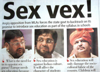 Opposition to Sex Ed India