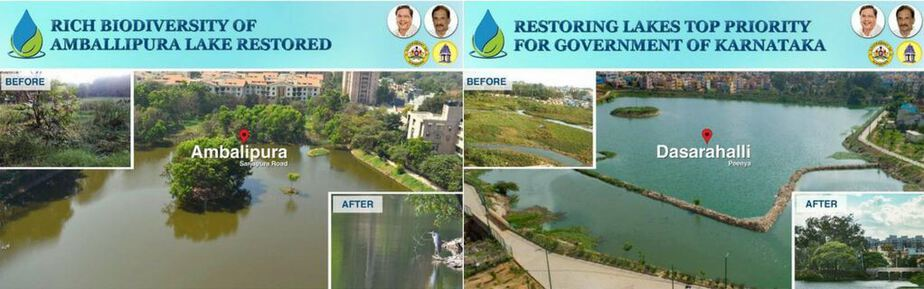 Congress Bangalore Lake Cleanup The Bastion