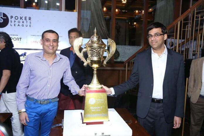 Vishwanathan Anand Poker SPorts League The Bastion