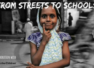 India school street children