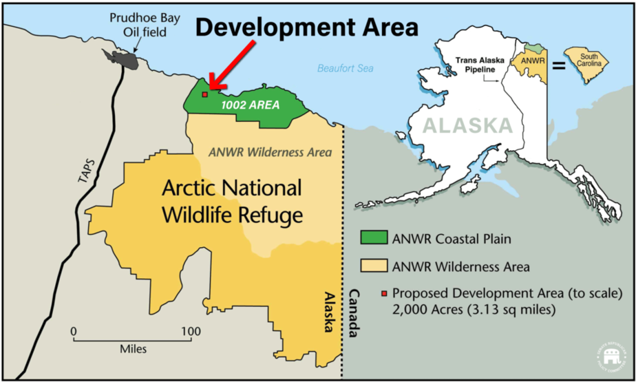 SIZE OF PROPOSED OPERATIONS IN ANWR