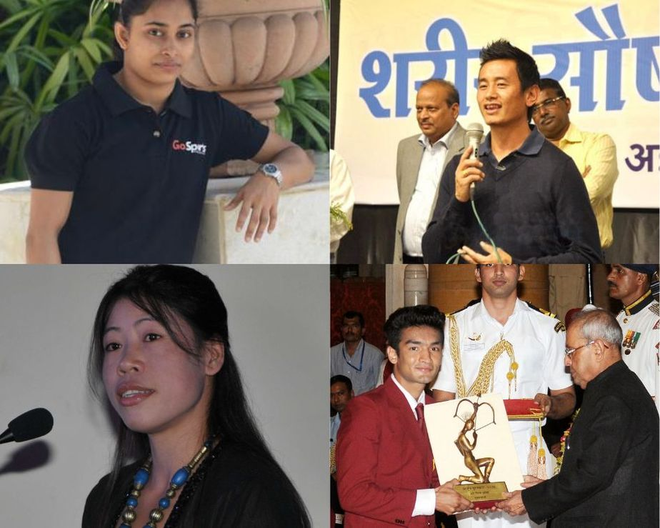 Northeast India Sports Personalities