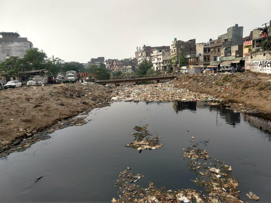 Garbage Dumped in Ludhiana