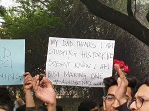 Protest CAA India